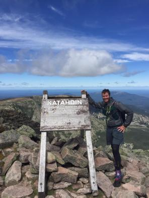 Mark Larson on the Appalachian Trail