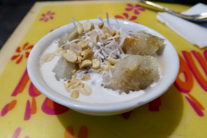 Bowl-of-banana-coconut-dessert