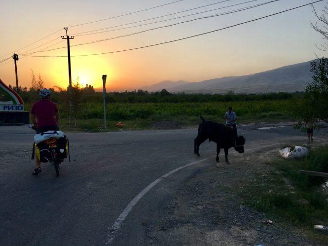 Sunset-in-tajikistan