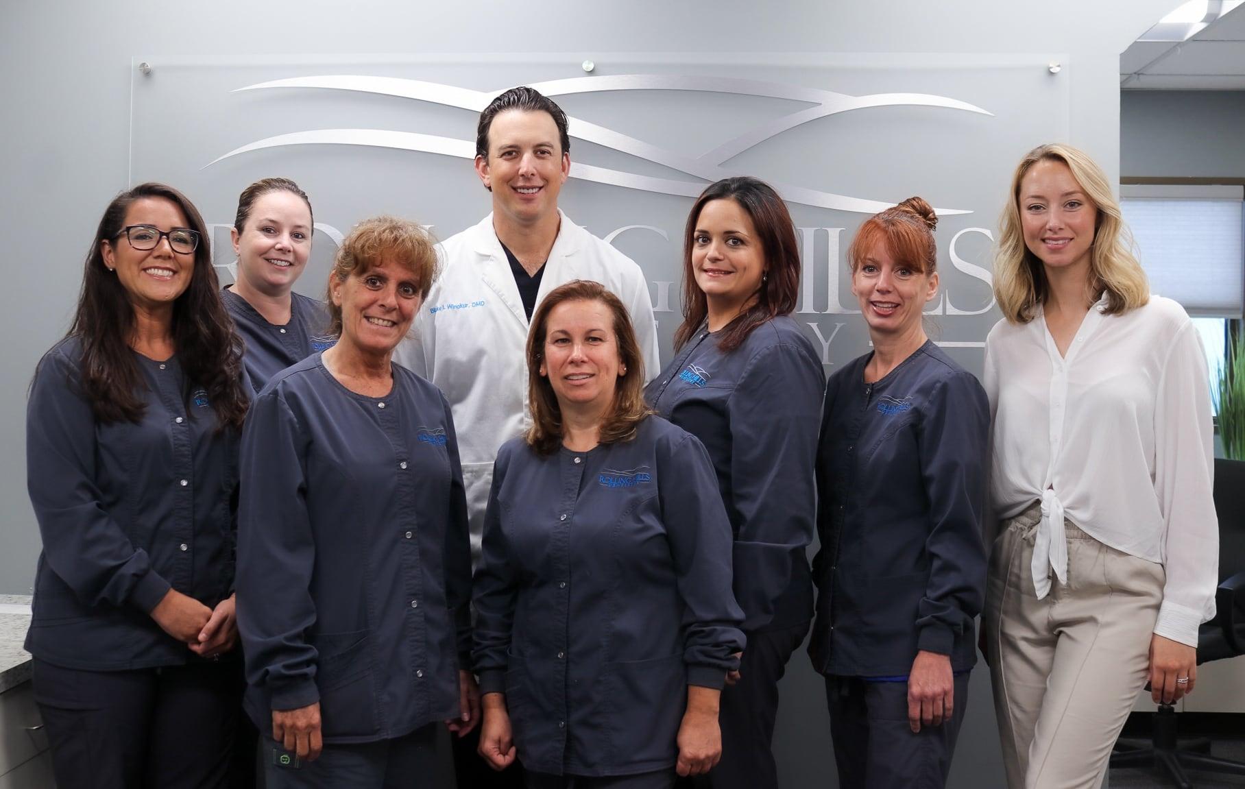 rolling hills dentistry team