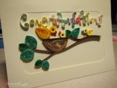 New baby congratulations card (able to be customised)