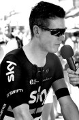 Ben Swift interviewed before Stage 2