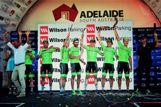 Cannondale win the Teams Classification
