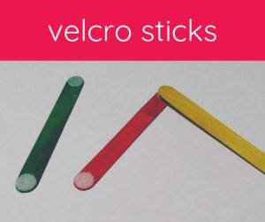 craft sticks with velcro