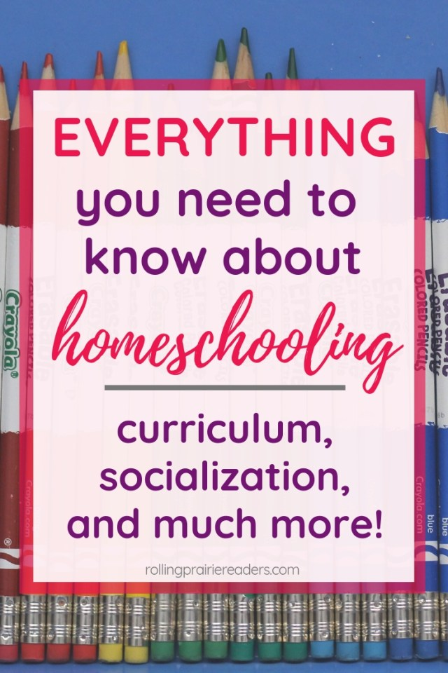 Everything you need to know about homeschooling.