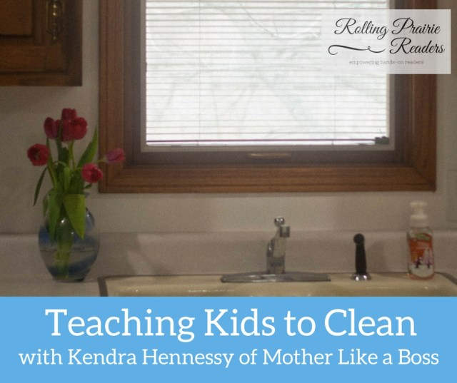 Teaching Kids to Clean | FREE Master Cleaning List