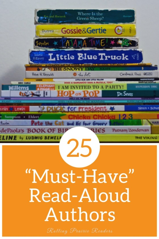 25 Must-Have Read-Aloud Authors