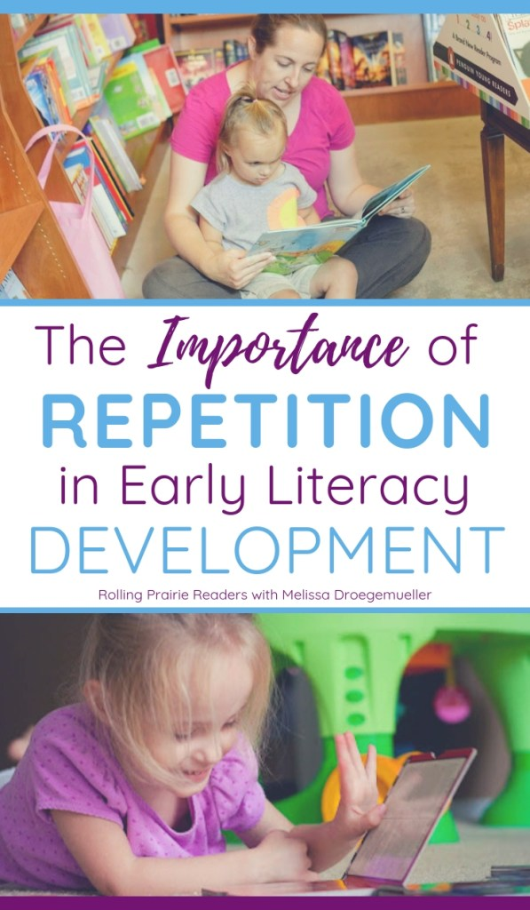 The Importance of Repetition in Early Literacy Development
