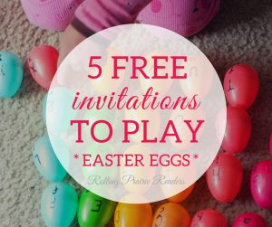 Five FREE Easter-Themed Activities for Toddlers and Preschoolers | tot school, preschool at home, learning at home, tactile activities, wahm kids