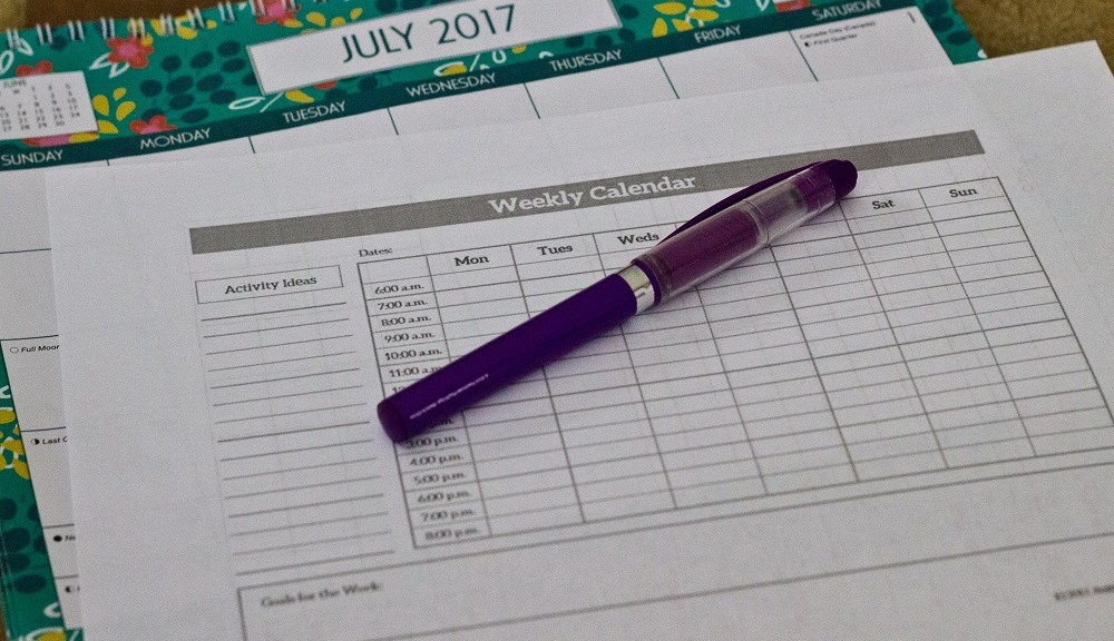 Creating a Flexible Family Schedule