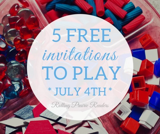 Grab your 5 FREE 4th of July learning activities for toddlers, preschoolers, and Kindergarten students. | red, white, and blue | learning at home, tot school, July 4th, hands-on learning