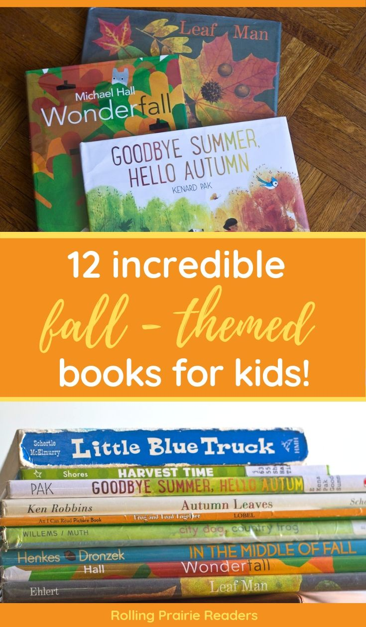 12 incredible fall themed books for kids