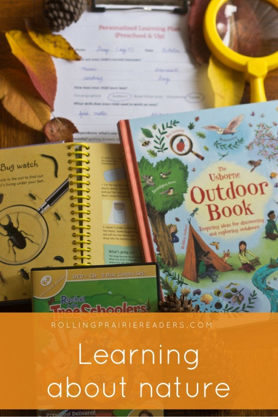 Fun ways to learn about nature with your preschooler   fall leaves, chlorophyll experiment, why do leaves change color, exploring pinecones, learning at home