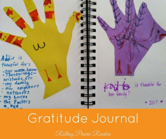 Start a new family tradition: create a gratitude journal!