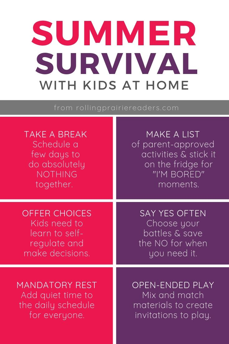Summer Survival Infographic
