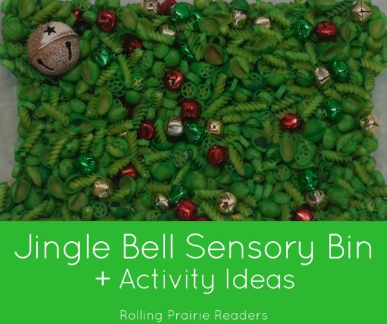 Jingle Bell Sensory Bin + Activity Ideas | Christmas Sensory Play Ideas, Tactile Activities for Toddlers and Preschoolers, Learning Through Play