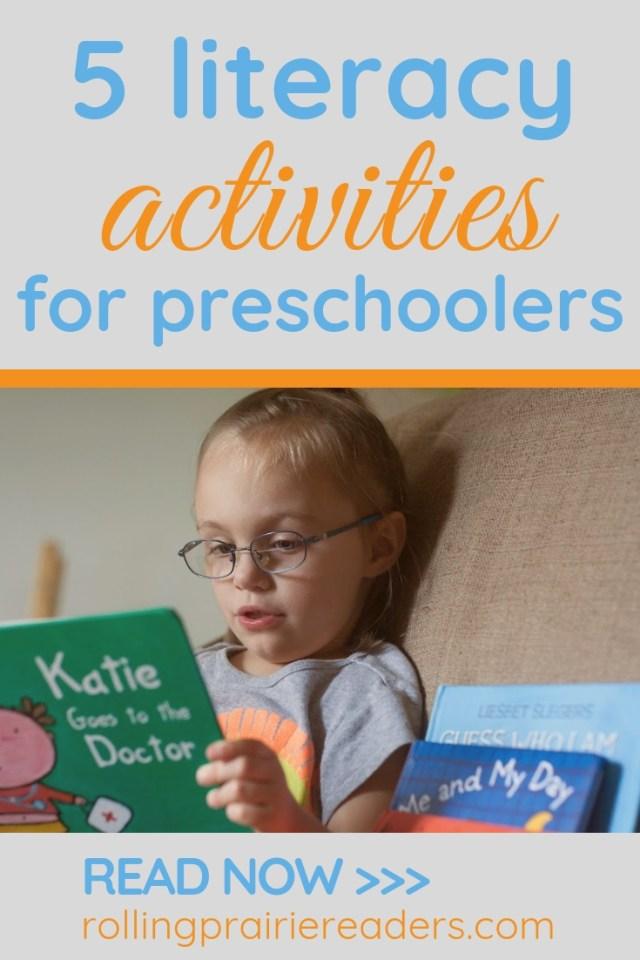 Early Literacy Activities for Preschoolers