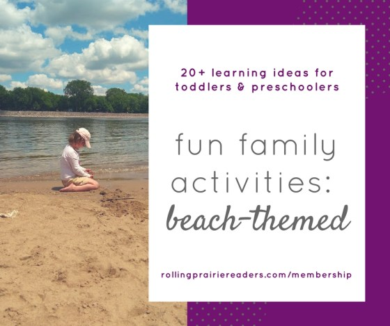 20 Beach Activities for Kids   Take your kids to the beach for summer fun and learning! Our Family Activity Guide includes 20 STEM activities for ages 2-8. Don't spend your summer break looking for things to do--the planning has already been done for you by a former classroom teacher.