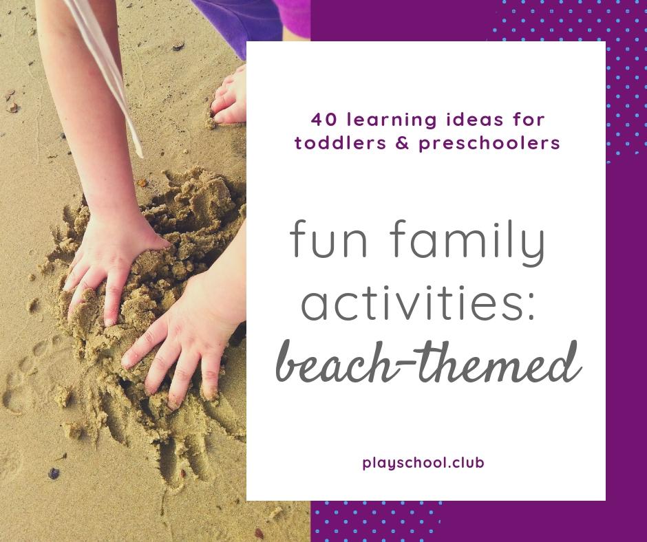 Fun Family Beach Activities