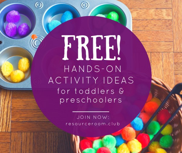 Access our FREE hands-on activity ideas in our Resource Library, now in our Facebook group!