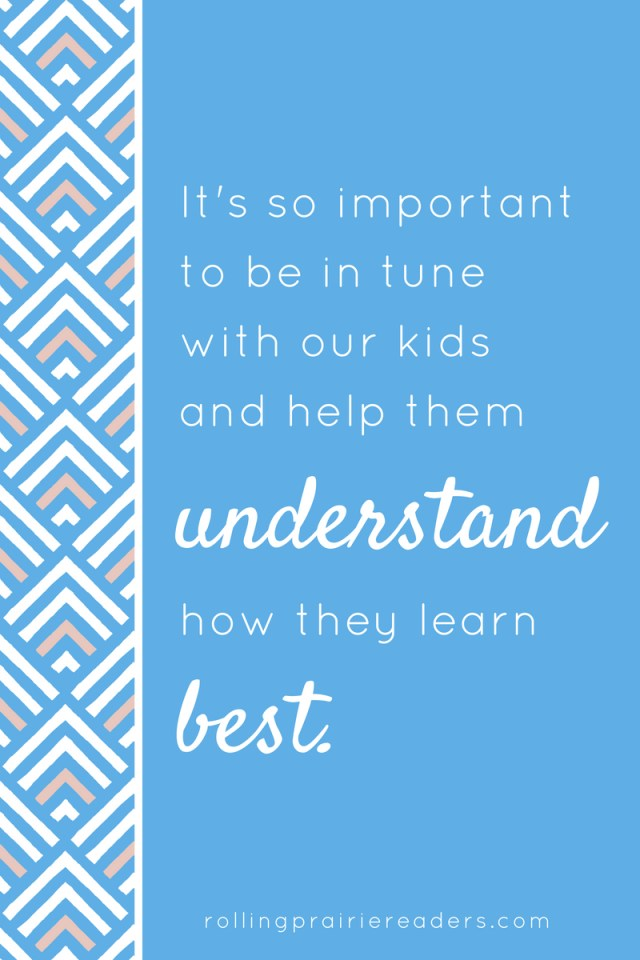 We need to help our children discover how they learn best. Understanding learning styles can make school easier, less stressful, and fun for children, parents, and teachers.
