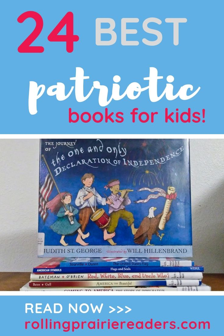 24 Best Patriotic Books for Kids
