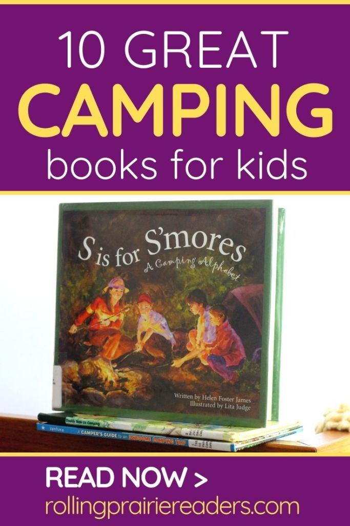 Camping Books for Kids