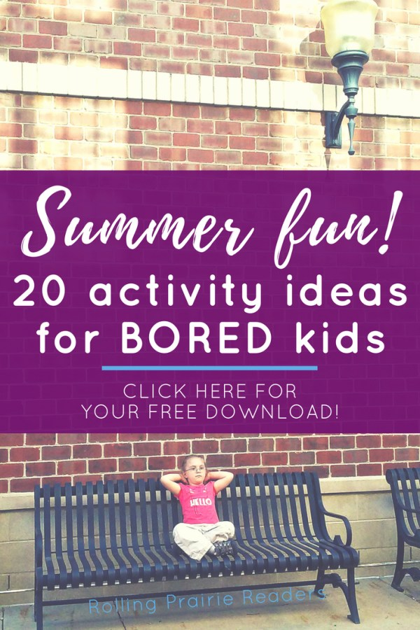 20 FUN Summer Activities for Kids | Make the most of your family time at home with these easy indoor and outdoor activities. FREE printable download!