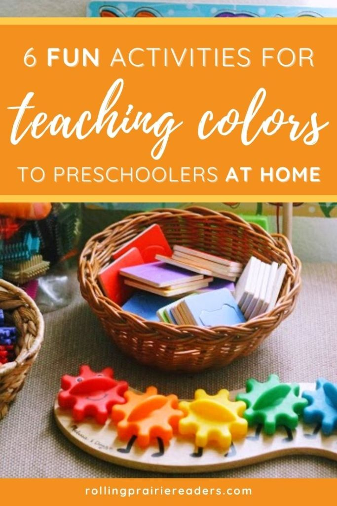 Fun Activities for Teaching Colors to Preschoolers at Home