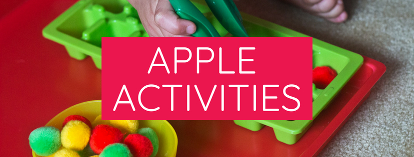 Apple activities for kids!