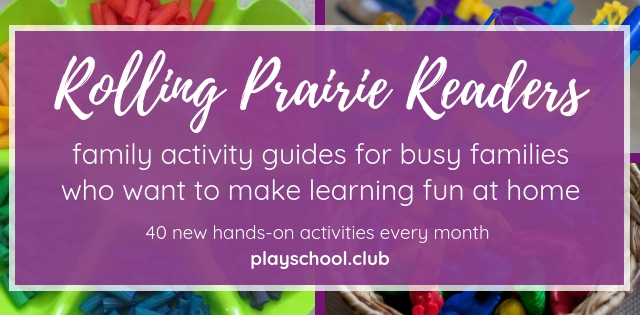 Rolling Prairie Readers Activity Guides