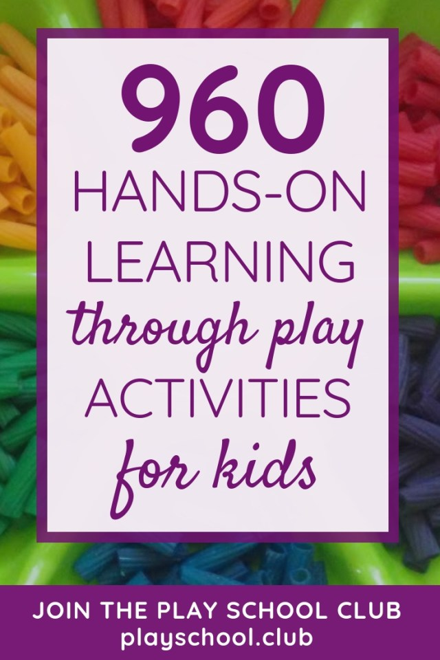960 Hands-On Learning Through Play Activities for Kids