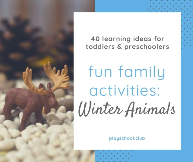 Winter Animals Family Activity Guide