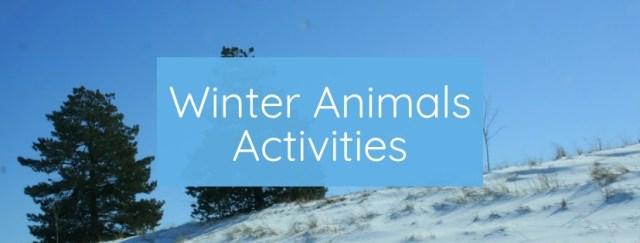 Winter Animals Activities