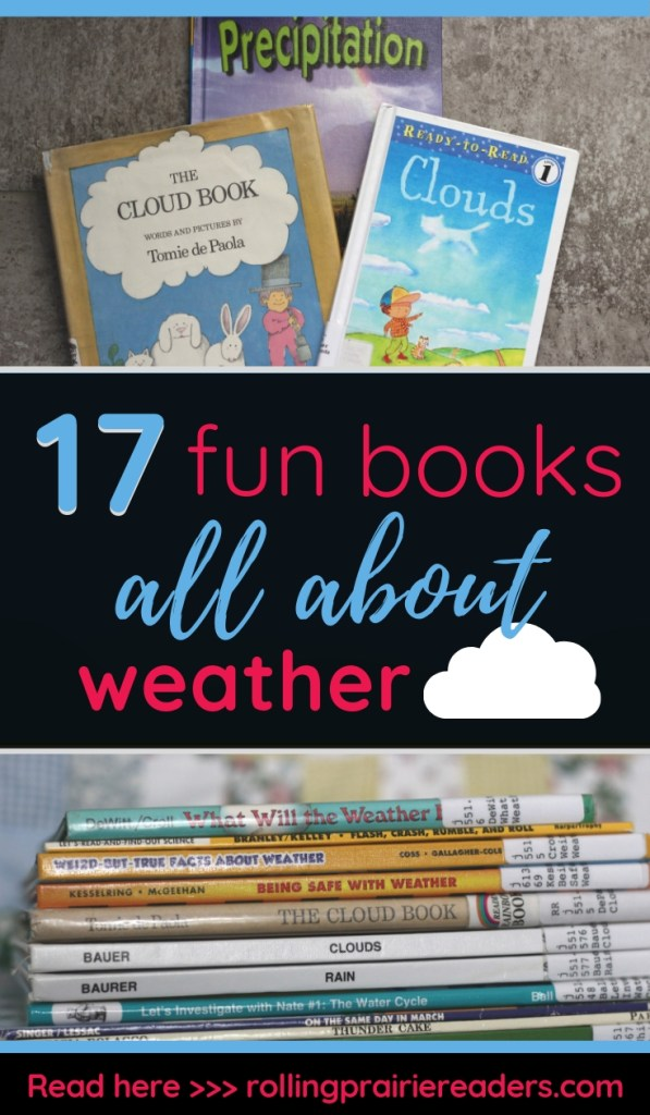 17 Fun Books All About Weather