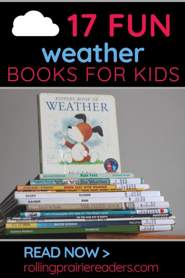 17 Fun Weather Books for Kids