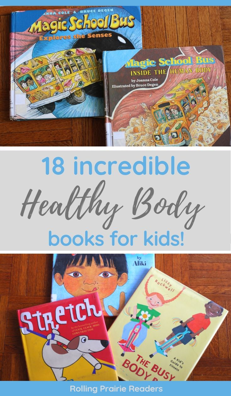 healthy body books for kids