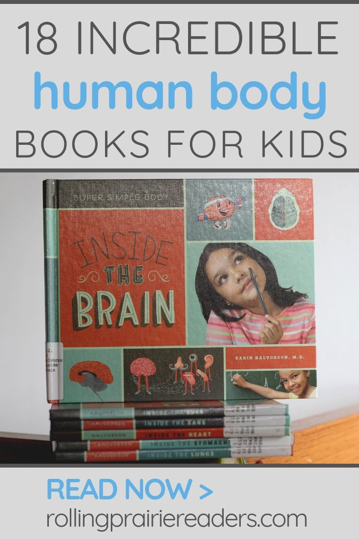 human body books for kids