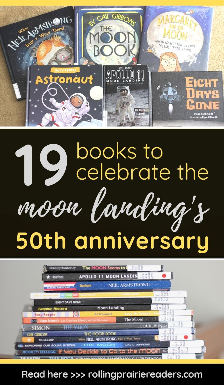 19 books to celebrate the moon landing's 50th anniversary