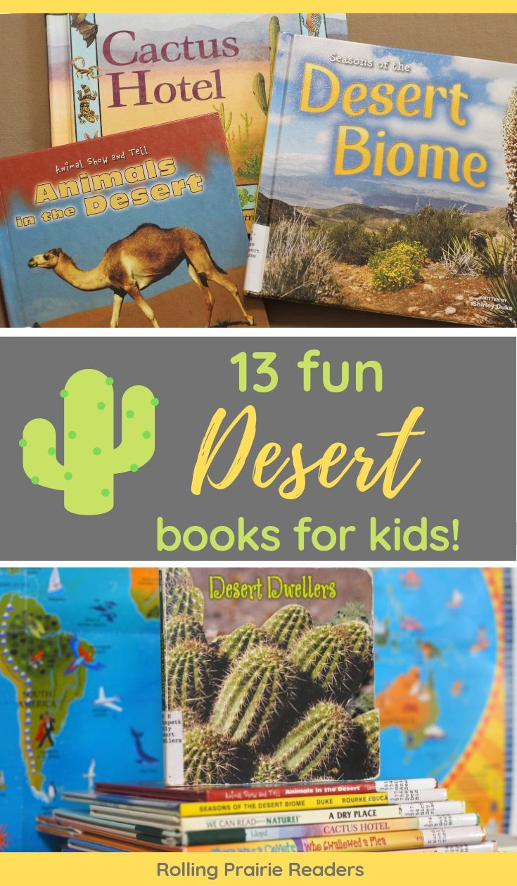 13 FUN Desert Books for Kids