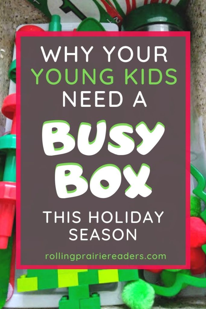 Holiday Busy Box for Kids