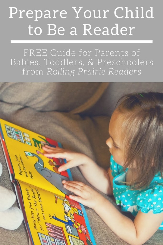 Prepare Your Child to Be a Reader FREE Guide