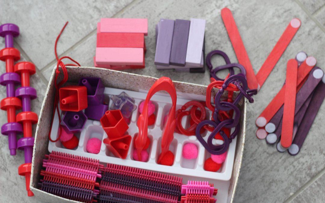 Valentine's Day Busy Box