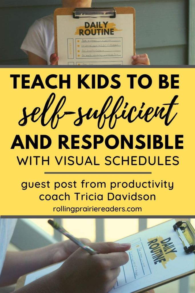 Teach Kids to Be Self-Sufficient