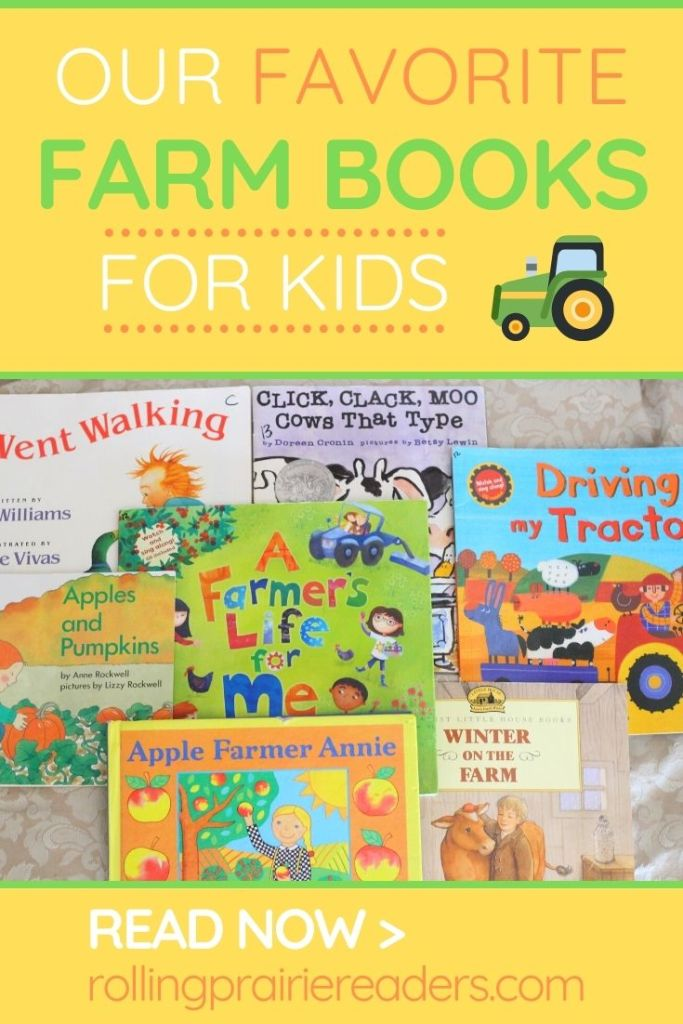 Favorite Farm Books for Kids