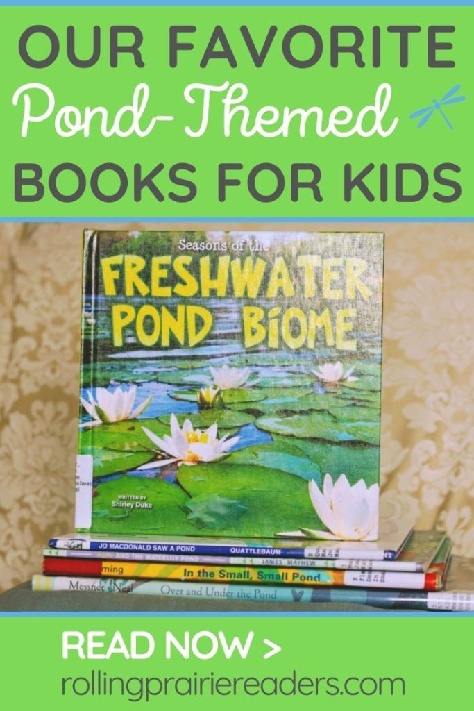Our Favorite Pond Books for Kids