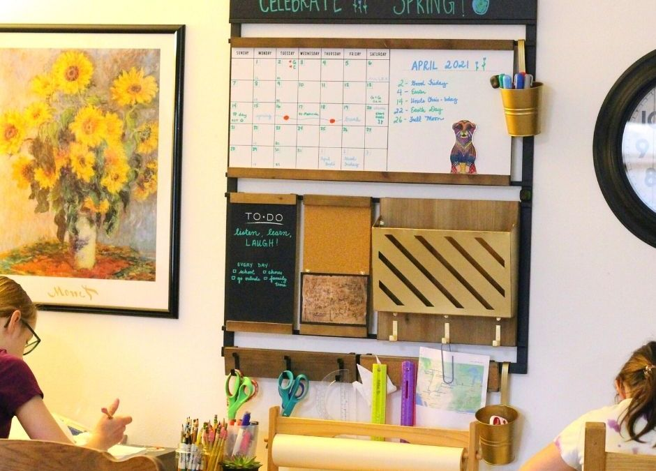 Maximize Your Learning Space With a Homeschool Wall Organizer