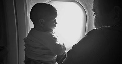 Полет с бебе