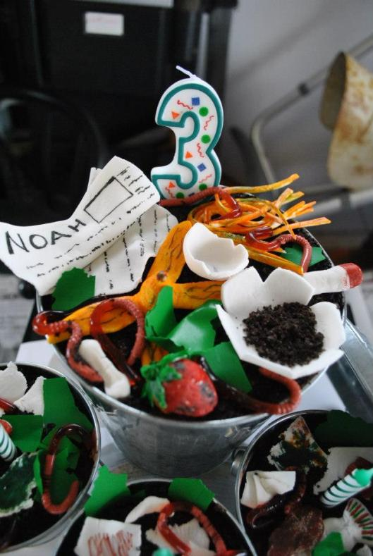Garbage Truck Themed Birthday Party Rolling Sin Sweets