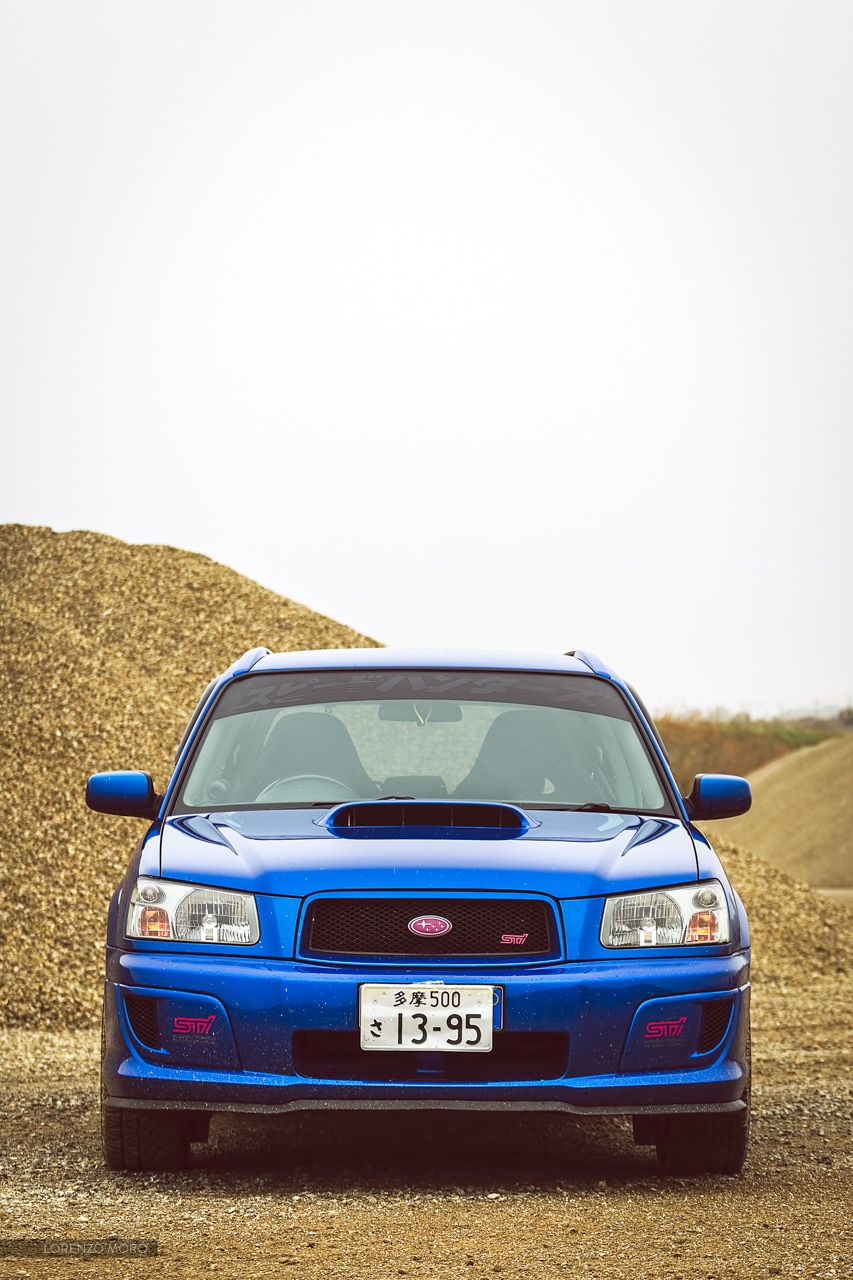 Forester STI front